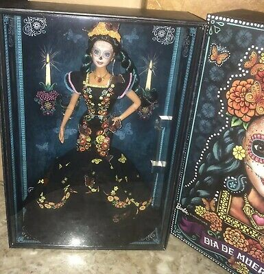 NEW! Barbie Dia De Muertos Doll Day Of The Dead! In Hand! Beautiful!