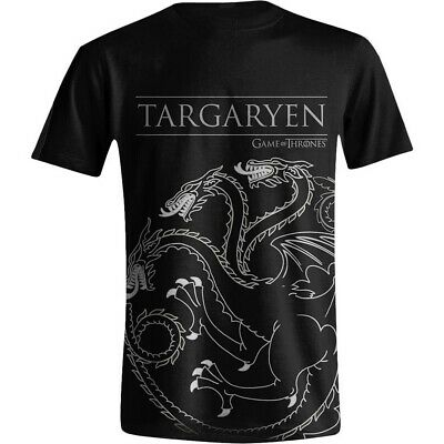 Game of Thrones Targaryen House Sigil Official Merchandise T-shirt M/L/XL - New