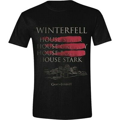 Game of Thrones Winter Coat Full Circle Official Merchandise T-shirt M/L/XL -