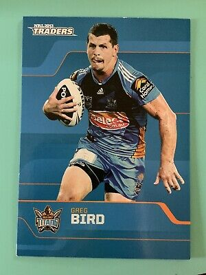 NRL Traders 2013 Rugby League Card Gold Coast Titans #50 Greg Bird