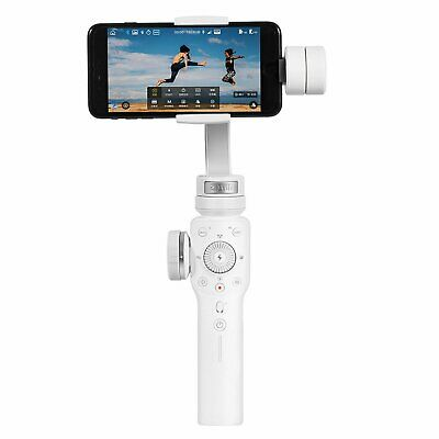 White Zhiyun Smooth 4 Gimbal Stabilizer For Smartphone Mobile 210g Payload
