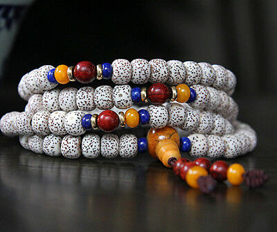 necklace tibetan bracelet worry prayer beads mala tibet lotus bodhi seed rosary