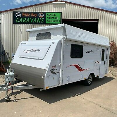 Jayco Starcraft Pop Top Caravan 16Ft As New
