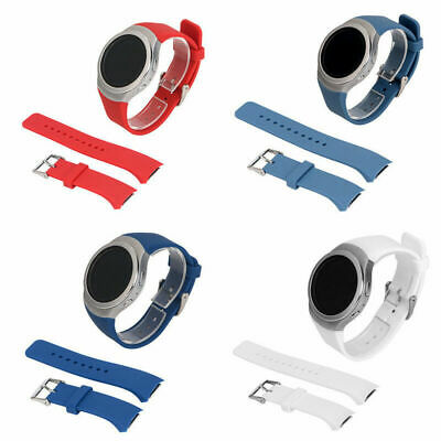 1 PC Watch Band Replacement Silicone Strap for Samsung Galaxy Gear S2 R720 Soft