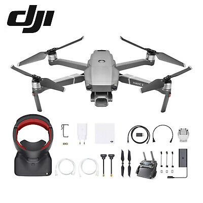DJI Mavic 2 Pro Drone 20MP 4K Fly More Combo Kit Goggles RE AUS 1 Year Warranty