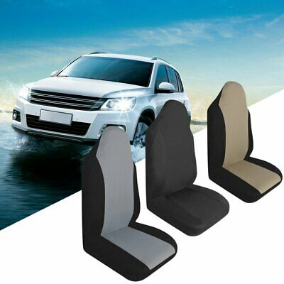 Universal Car Front Rear Seat Covers Cushion Pad For Crossovers SUV Sedan @