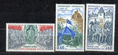 France Annee 1968 Serie Complete  Y.v. N° 1577 / 1579   Neuve Sans Charniere