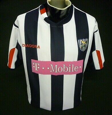 West Bromwich Albion Football Shirt Home 2004/05 Diadora Size M Great Condition