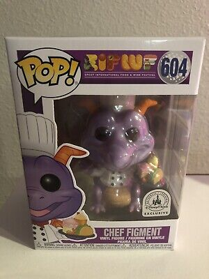 Disney Parks Epcot Food Wine Festival Chef Figment Funko Pop Figure Oct 2019