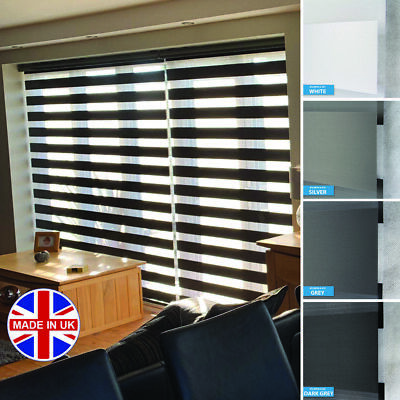 Made to Measure Day and Night Vision/Zebra Window Cassette Premium Blinds