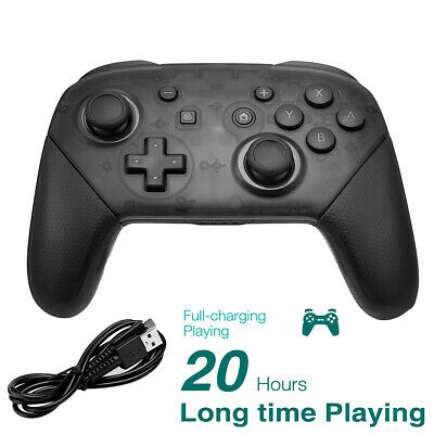Wireless Bluetooth Pro Controller Gamepad for Nintendo Switch + Charging Cable