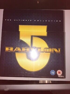 Babylon 5 The Ultimate Collection DVD Boxset BNIB Sealed released 2009