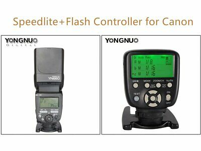 Yongnuo YN560-TXII Flash Wireless Trigger for Canon YN560 III IV YN660 YN968 with A/&R Cleaning Cloth