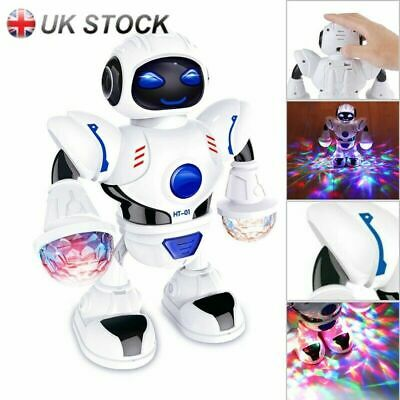 Boys Kids Music Dancing Robot Toys For 3 4 5 6 7 8 9 10 Years Age Gifts XMAS