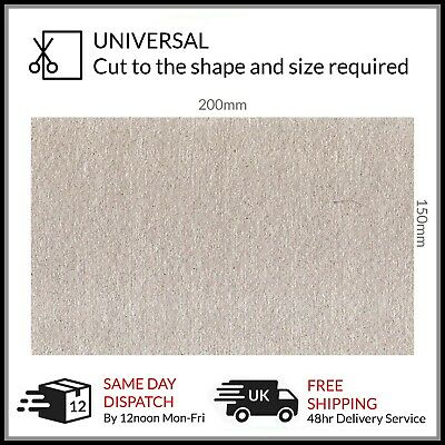 Premium Universal Microwave Wave Guide Cover Mica Sheet 200 x 125mm Waveguide