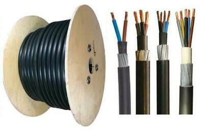 6mm Outdoor SWA Cable Underground Armoured 2 3 4 5 Core Outside Wire