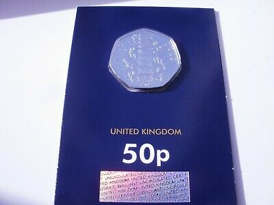 Genuine Kew Gardens 50p CERTIFIED Brilliant Uncirculated Sealed BUNC coin 2019