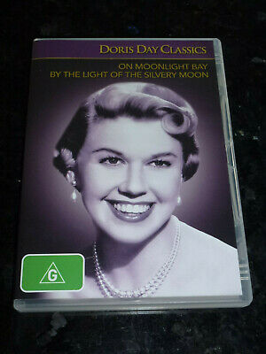 On Moonlight Bay + By The Light Of The Silvery Moon Dvd Doris Day - Pal Region 4