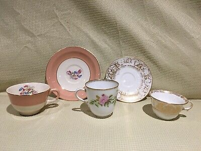 Vintage Tea Cups and Saucers Mixed Lot
