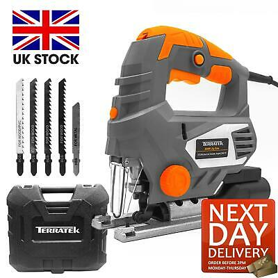 800W Electric Jigsaw Compact Cutting Variable Speed Power Corded Uk Plug