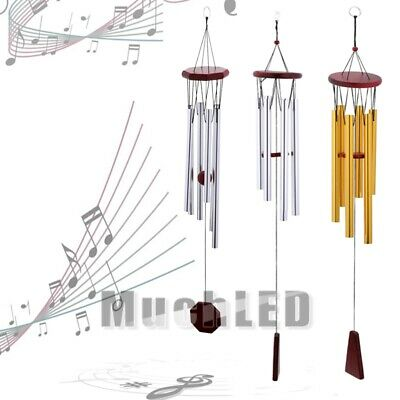 32inch Long Wind Chimes Aluminum Hanging Home Ornament Outdoor Garden Yard Decor