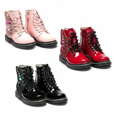 Lelli Kelly Juniors Fairy Wings Boots (Colours: Black, Red, Pink)