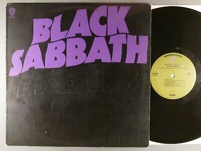 Black Sabbath  Master Of Reality   Hard Rock; Heavy Metal   Orig Label  Poster