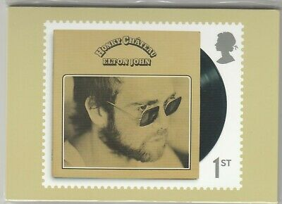 2019 MUSIC GIANTS-ELTON JOHN- NEW SEALED SET OF 13 PHQ CARDS. No 461
