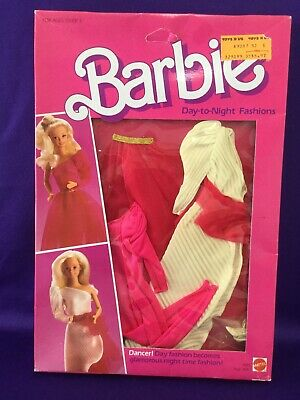 Barbie Doll Clothes. Day To Night Fashions, Dancer. Mattel 9082. Nrfb. China 84.