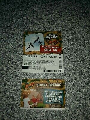 3 Chessington World Of Adventure Tickets