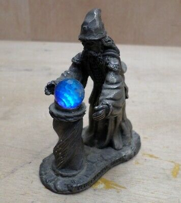 Mystic Legends Crystal Seer Evergreen Studios Pewter Figure Magician Mage