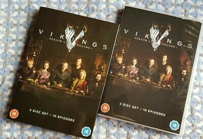 Vikings: Season 4 - Volume 1 (2016) 3 x Discs DVD