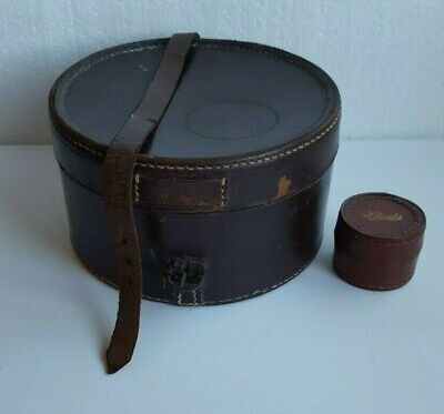 Vintage Leather Collar & Studs Boxes