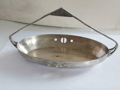 WMF Art Nouveau  Silverplate Spoon Stand Holder Dish