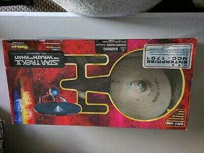 Star Trek The Wrath Of Khan Uss   Enterprise NCC-1701 model
