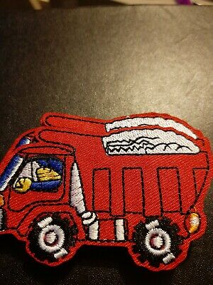 Construction Loader Machine Truck Iron Sew on Embroidered Patch #1601