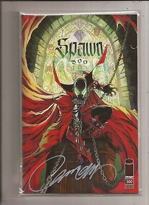 Spawn 300 J Scott Campbell Color Trade Variant SIGNED with COA Image McFarlane