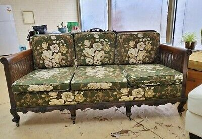 Antique Bergere Lounge Suite