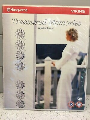 Husqvarna Viking Embroidery Pattern #140 - Treasured Memories - CD
