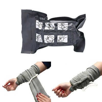 1pc Israeli Bandage Battle Dressing Medical Dressing Trauma Survive Bandage V_,w