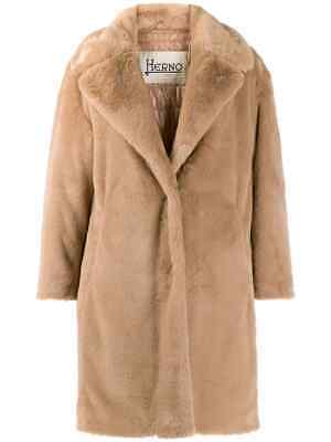 Herno Coat a fur Brown with Inner a down Jacket 91HD