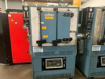 "BLUE M No. IGF 6680F-4 20"" x 18"" x 20"", 1100 F INERT GAS FORCED AIR OVEN   5466"