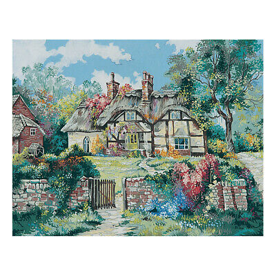 COLLECTION D'ART | Printed Canvas: Ginger Cottage by Marty Bell |CD11801