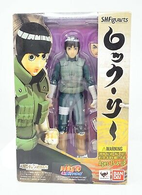 S.H. Figuarts Rock Lee Naruto Shippuden Bandai Tamashii New SEALED Damaged Box