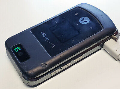 NICE Motorola W755 Black No Contract Verizon  Page Plus Straight Talk Flip Phone