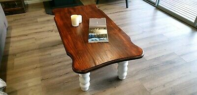 French Provincial Hamptons Style coffee table- Shabby Chic