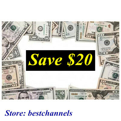 SAVE $20 Coupon! $20 OFF! SAVE NOW!!!