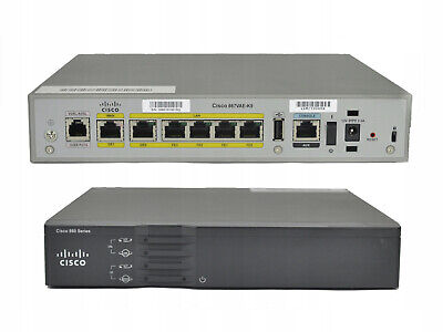 CISCO 867VAE-K9 Integrated Services Router VDSL2/ADSL2+ w/o PA