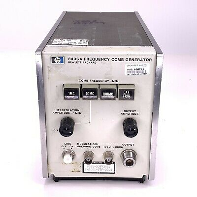 HP 8406A Frequency Comb Generator