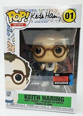 Funko Pop Keith Haring 2019 NYCC Shared Sticker Exclusive BRAND NEW *IN HAND*